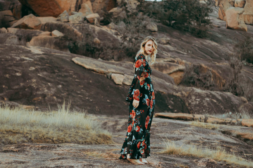 Enchanted Rock Portrait photography session