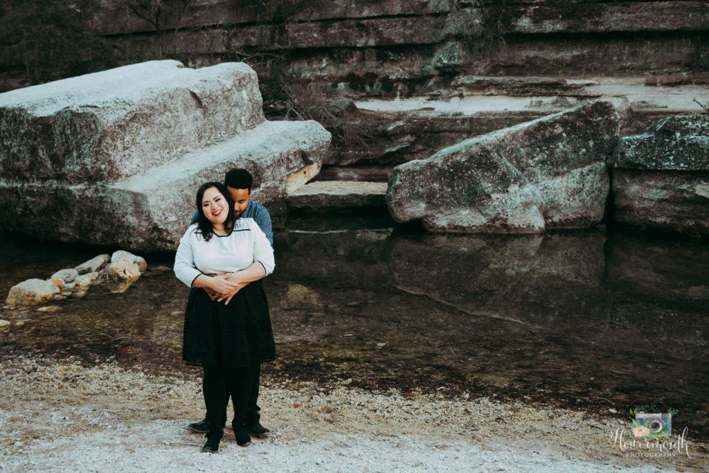 Austin Tx Bullcreek engagement photoshoot