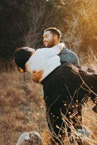 Austin Tx Engagement Photoshoot at Bullcreek