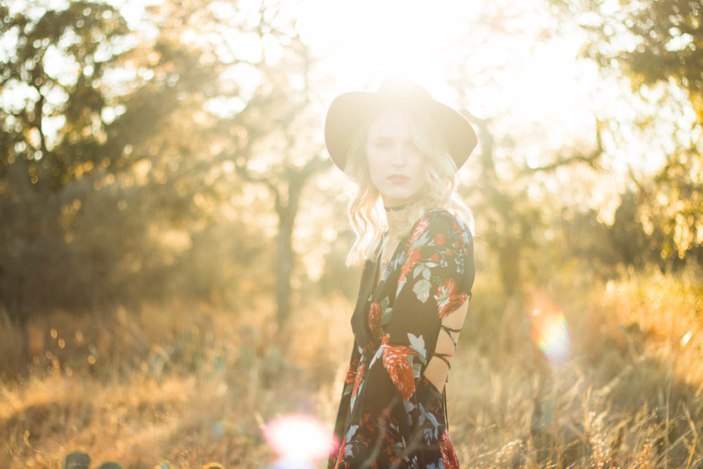 Enthanted Rock Tx Golden hour Portrait Photography session