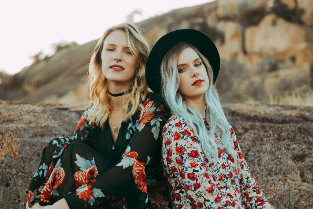Enchanted Rock Texas Portrait Photoshoot Boho Girls