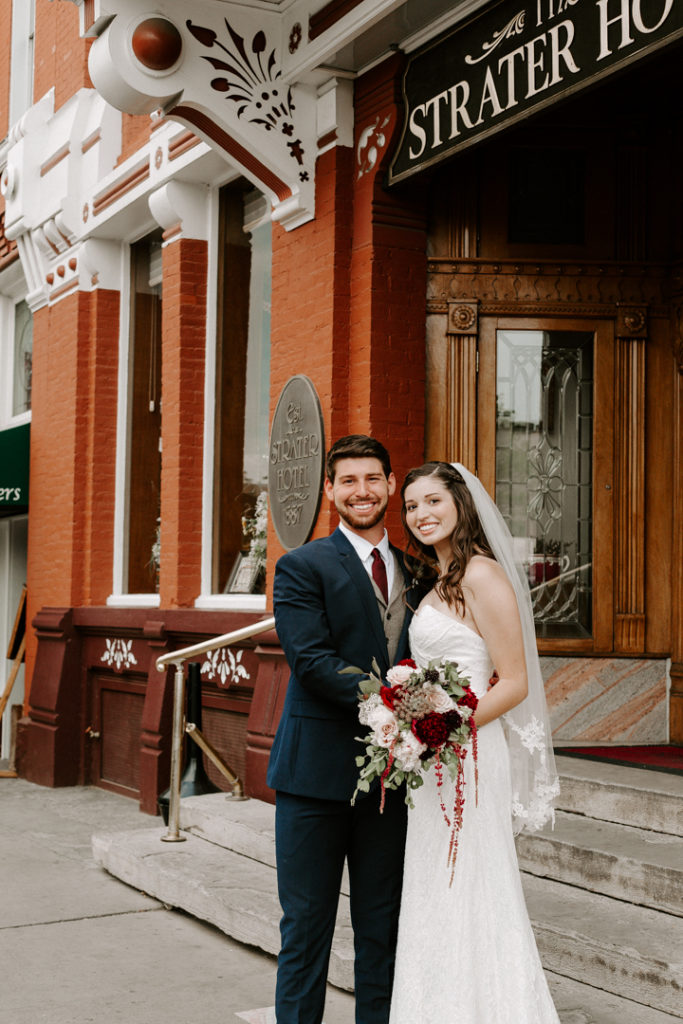 Colorado Destination Wedding Strater Hotel