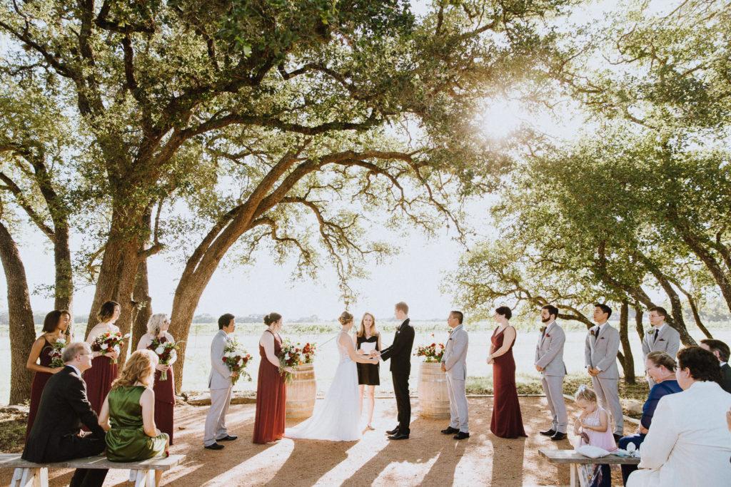 Duchman Family Winery Wedding