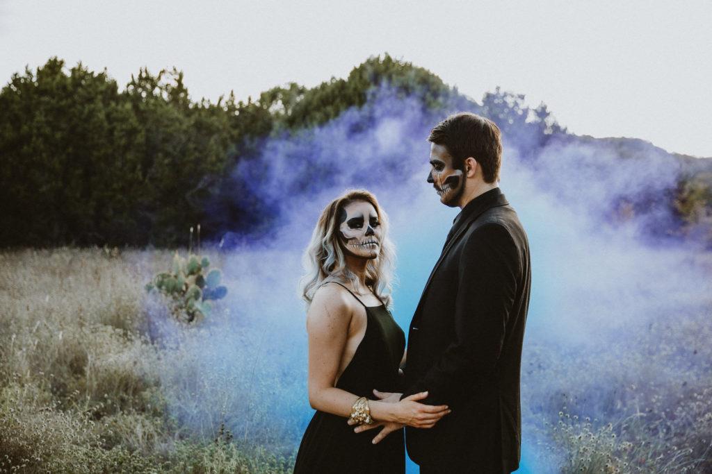 Austin Tx Halloween Couples Photoshoot